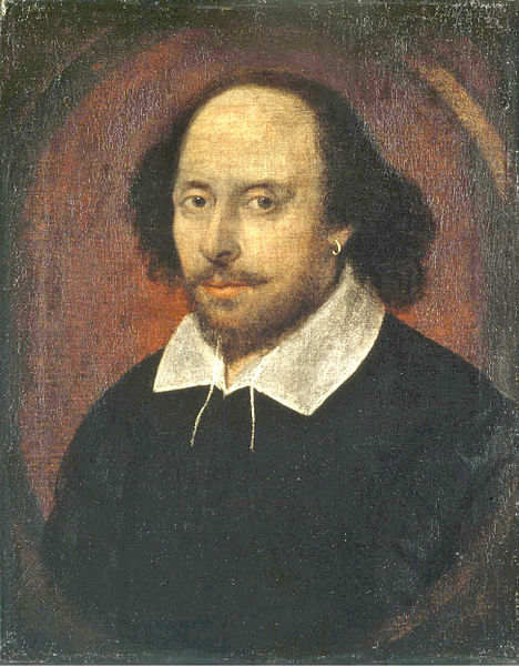 chandos portrait shakespeare